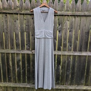 Vince Camuto Soft Jersey Maxi Dress Grey Sz PS S